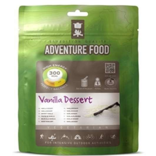 Adventure Food Vanilla Desert, enkelportion